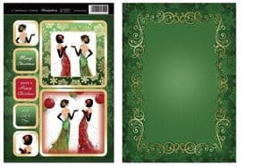 Hunkydory Contemporary Christmas CHRISTMAS PARTY toppers
