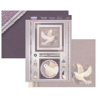 Hunkydory Contemporary Christmas  Luxury Card Toppers - A Peaceful Christmas Time