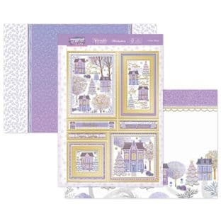 Hunkydory Contemporary Christmas  Luxury Card Toppers - Winter Village