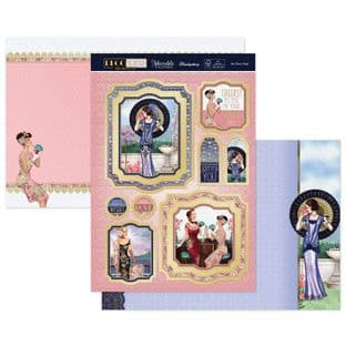 Hunkydory Deco Wonder Luxury Card Topper Collection - Art Deco Days