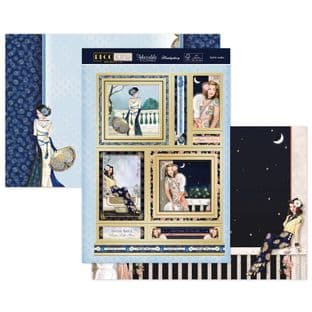 Hunkydory Deco Wonder Luxury Card Topper Collection - Stylish Ladies