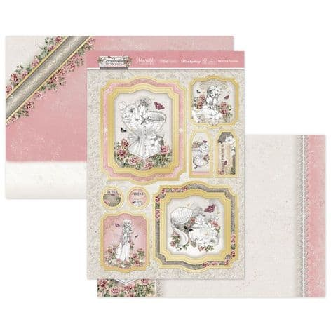 Hunkydory Everlasting Memories Luxury Card Topper Collection - Feminine Touches