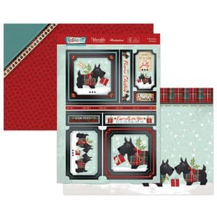 Hunkydory Festive Fun  Luxury Card Toppers - A Pawsome Christmas