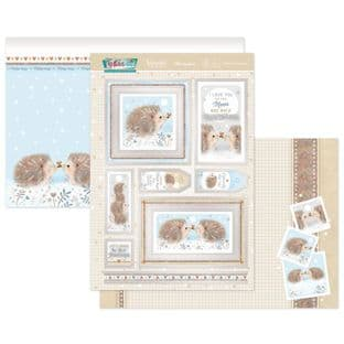 Hunkydory Festive Fun  Luxury Card Toppers - Holiday Hedge-Hugs