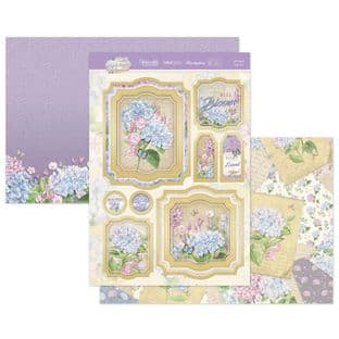 Hunkydory Forever Florals Hydrangea  Luxury Card Topper Kit - A Friend Like You