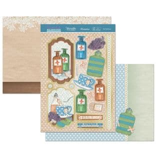 Hunkydory Moments & Milestones Luxury Card Topper Collection - Get Well Soon