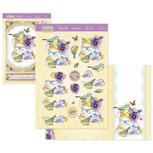 Hunkydory Springtime Wishes Deco-Large - Tea For Two