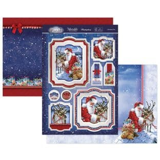 Hunkydory Winter Wonderland  Luxury Card Toppers - Christmas Eve