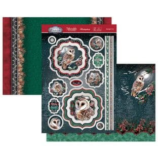 Hunkydory Winter Wonderland  Luxury Card Toppers - Midnight Owl
