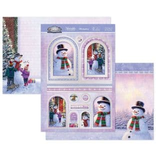 Hunkydory Winter Wonderland  Luxury Card Toppers - The Magic of the Snowman
