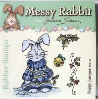 Joanna Sheen Messy Rabbit Rubber Stamps