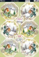 Kanban Christmas Card Toppers