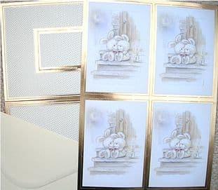 KANBAN INVERTAGE / APERTURE CARD KIT - BUNNY LOVE