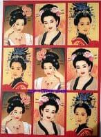 Kanban Oriental Card Toppers