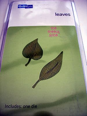 LEAVES QUICKUTZ SINGLEKUTZ DIE RS-0440