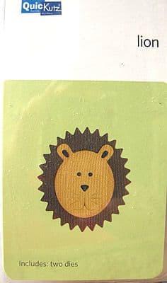 LION HEAD QUICKUTZ DOUBLEKUTZ DIE KS-0878