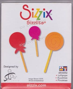LOLLIPOPS SIZZIX SIZZLITS SINGLE DIE 654932