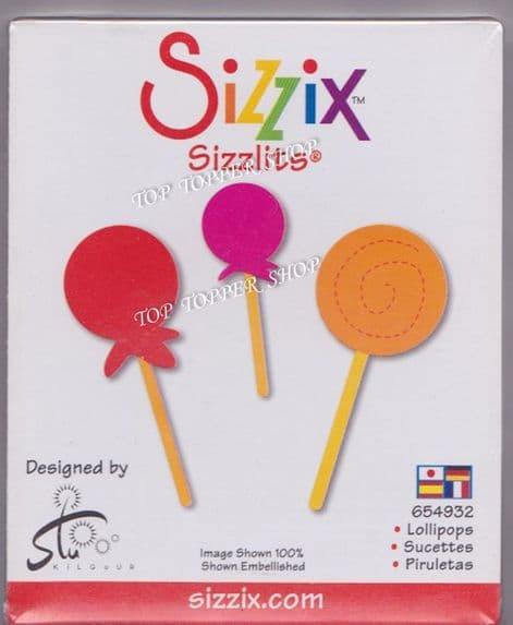LOLLIPOPS SIZZIX SIZZLITS SINGLE DIE 654932
