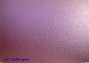 METALLIC NIGHTCLUB PURPLE STARDREAM CARD