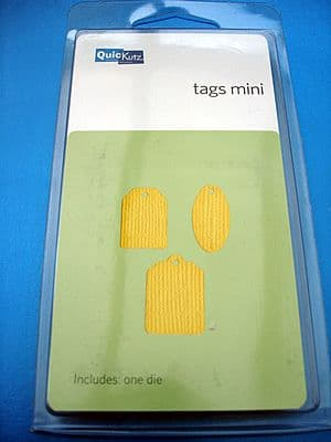 MINI TAGS QUICKUTZ SINGLEKUTZ DIE RS-0352