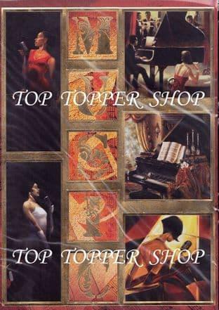MUSIC KANBAN DIE CUT CARD TOPPERS  9071