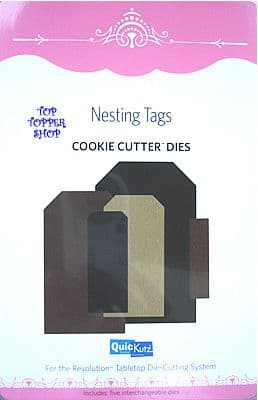 NESTING TAGS STRAIGHT QUICKUTZ COOKIE CUTTER DIES