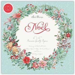 """Noel 6""""x6"""" Premium Craft Paper Pad Craft Consortium"""