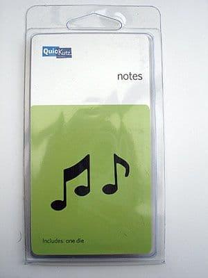 NOTES QUICKUTZ SINGLEKUTZ DIE RS-0456