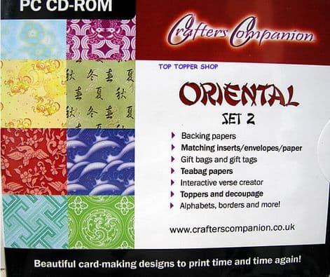 ORIENTAL SET 2 CD - CRAFTER'S COMPANION