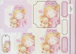 PINK RANGE JUST FOR YOU KANBAN CARD TOPPERS 9945