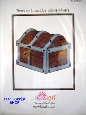 PIRATE BOSS KUT DIE - TREASURE CHEST 0903