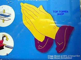 PRAYING HANDS ELLISON THIN CUTS DIE