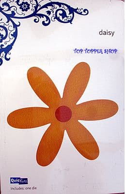 QUICKUTZ SHAPE DIE * DAISY REV-0036 * for REVOLUTION