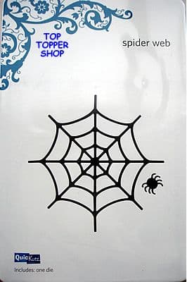 QUICKUTZ SHAPE DIE * SPIDER WEB * for REVOLUTION