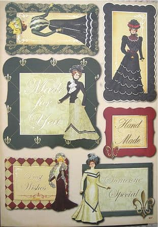 RED HOT BED TOPPERS VINTAGE LADIES MADE FOR YOU 937