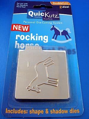 ROCKING HORSE QUICKUTZ DOUBLEKUTZ DIE discontinued