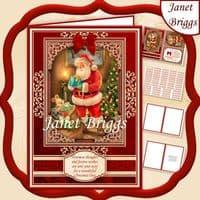 Santa Christmas Card Kit Downloads