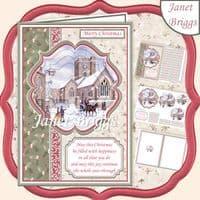 Scenic Xmas Card Kit Downloads
