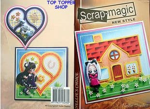 SCRAP MAGIC IDEAS BOOKLET 4