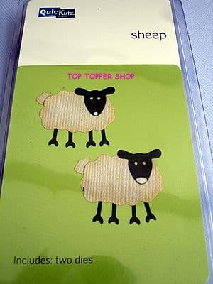 SHEEP QUICKUTZ DOUBLEKUTZ DIE KS-0526