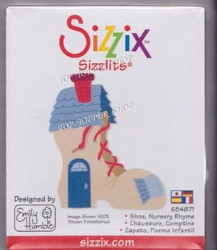 SHOE HOUSE NURSERY RHYME SIZZIX SIZZLITS SINGLE DIE