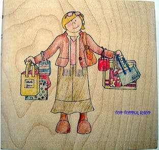 SHOPPER PAPERNATION STAMP PN010J