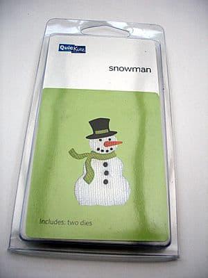 SNOWMAN QUICKUTZ DOUBLEKUTZ DIE KS-0213