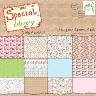 SPECIAL DELIVERY PAPER PACK 12 sheets