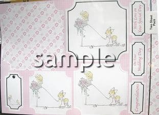 SPECIAL MOMENTS - WEDDING KANBAN TOPPERS KIT 9534