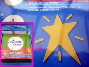 STAR #2 ELLISON THIN CUTS DIE