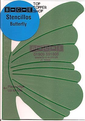 STENCILLO BUTTERFLY Card Making Template