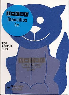 STENCILLO CAT Card Making Template
