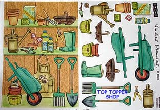 STENCILLO SHOP FRONT DECOUPAGE - KIMSIES WHIMSIES GARDENING 016