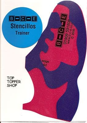 STENCILLO TRAINER Card Making Template
